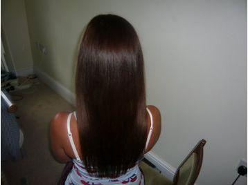 nano tip hair extension manchester