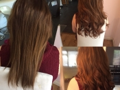 hair extensions manchester before and after pics