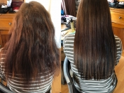 manchester hair extensions before and after